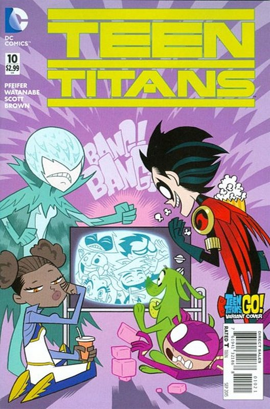 Cover of Teen Titans (Vol 5) #10. One of 250,000 Vintage American Comics on sale from Krypton!
