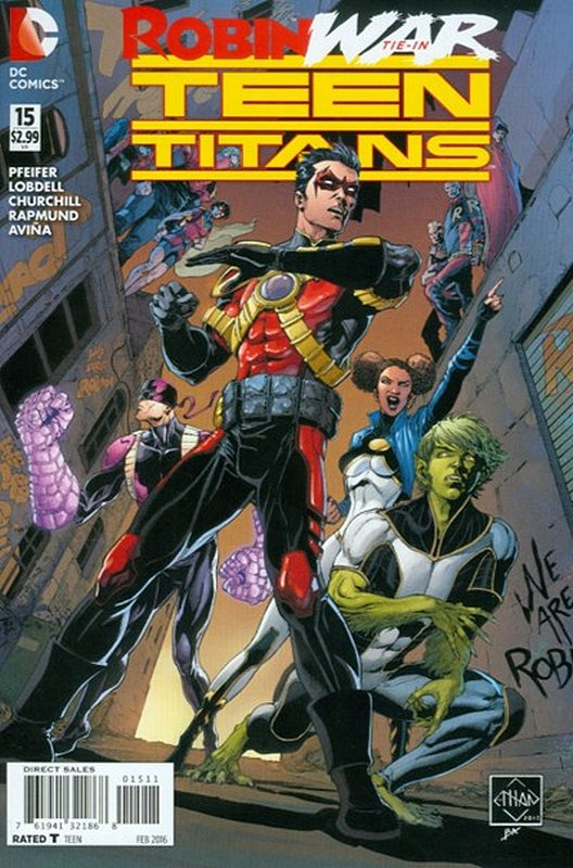 Cover of Teen Titans (Vol 5) #15. One of 250,000 Vintage American Comics on sale from Krypton!