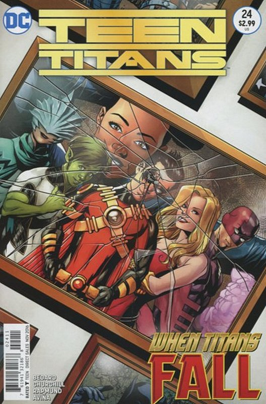 Cover of Teen Titans (Vol 5) #24. One of 250,000 Vintage American Comics on sale from Krypton!