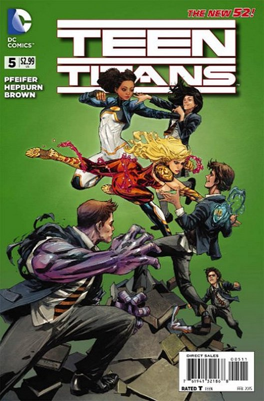 Cover of Teen Titans (Vol 5) #5. One of 250,000 Vintage American Comics on sale from Krypton!