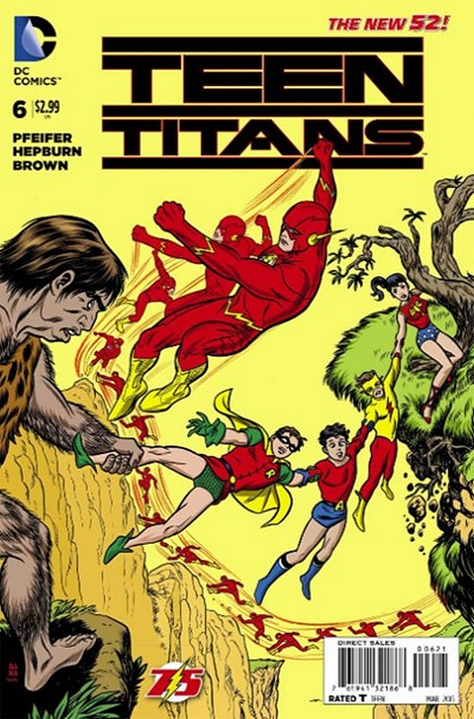 Cover of Teen Titans (Vol 5) #6. One of 250,000 Vintage American Comics on sale from Krypton!