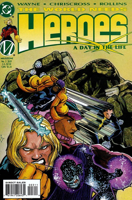 Cover of Heroes (1996 Ltd) #3. One of 250,000 Vintage American Comics on sale from Krypton!