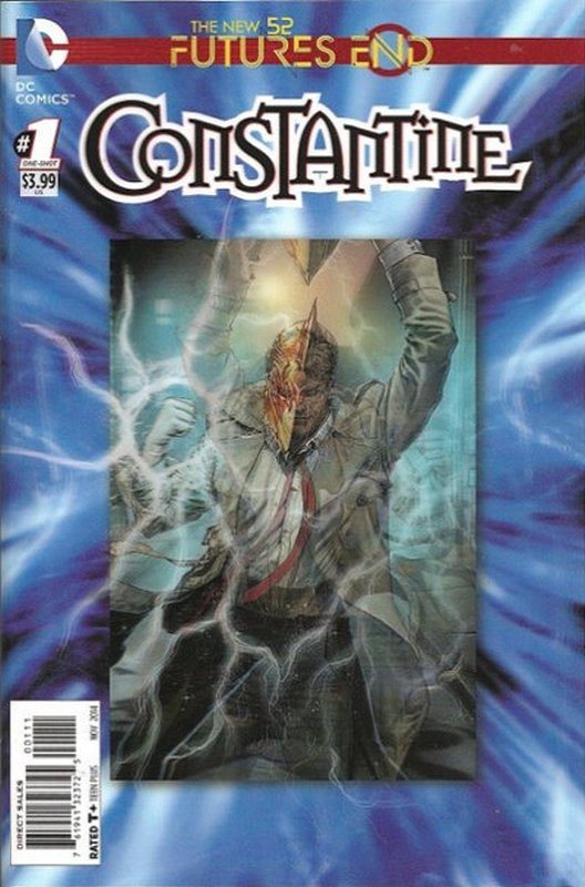 Cover of Constantine: Futures End (2014 One Shot) #1. One of 250,000 Vintage American Comics on sale from Krypton!