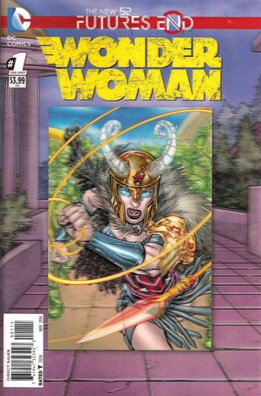 Cover of Wonder Woman: Futures End (2014 One Shot) #1. One of 250,000 Vintage American Comics on sale from Krypton!