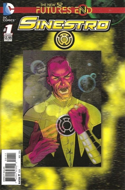 Cover of Sinestro: Futures End (2014 One Shot) #1. One of 250,000 Vintage American Comics on sale from Krypton!