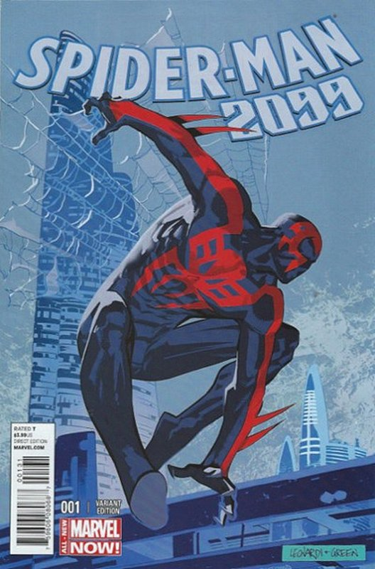 Cover of Spider-Man 2099 (Vol 2) #1. One of 250,000 Vintage American Comics on sale from Krypton!