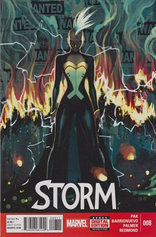 Cover of Storm (Vol 1) #8. One of 250,000 Vintage American Comics on sale from Krypton!