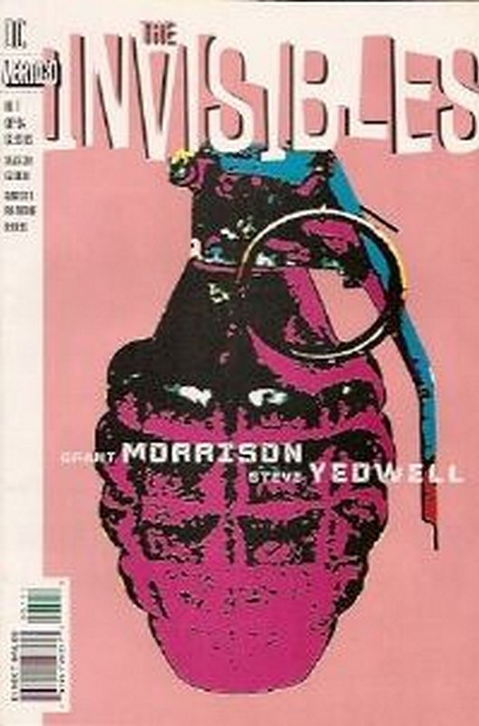 Cover of Invisibles (Vol 1) #1. One of 250,000 Vintage American Comics on sale from Krypton!