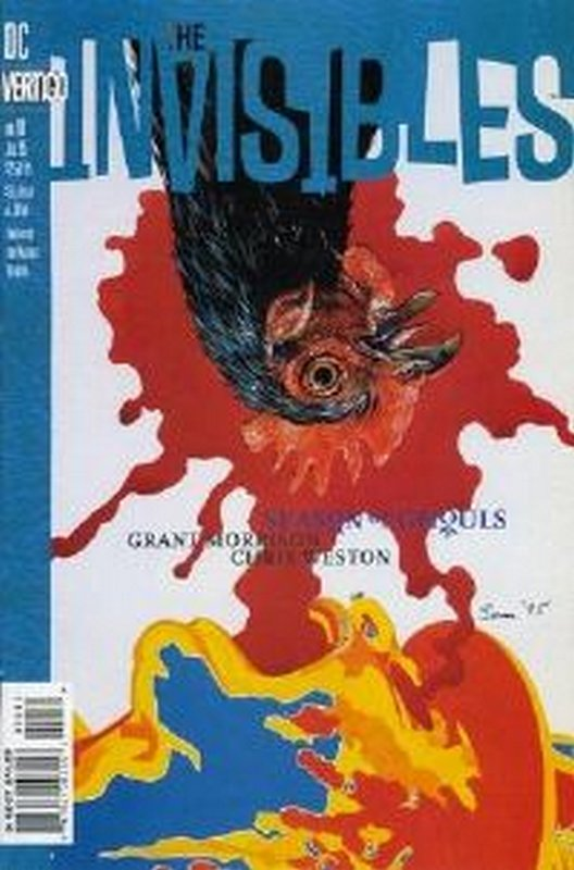 Cover of Invisibles (Vol 1) #10. One of 250,000 Vintage American Comics on sale from Krypton!