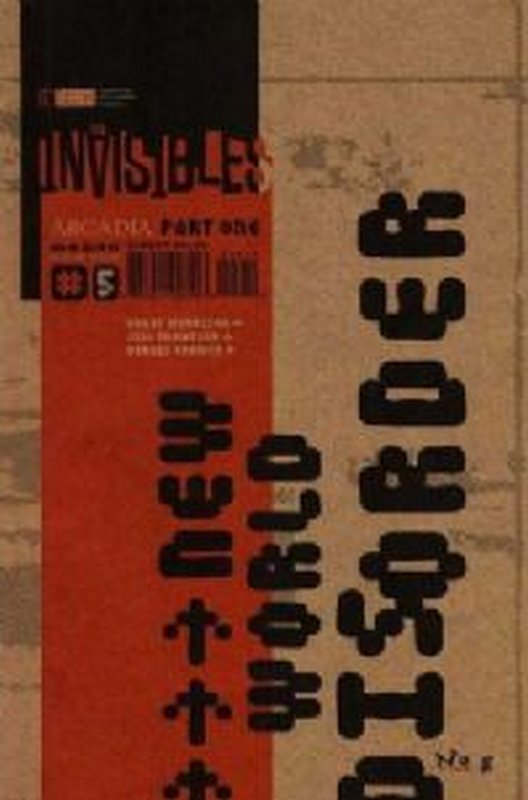 Cover of Invisibles (Vol 1) #5. One of 250,000 Vintage American Comics on sale from Krypton!