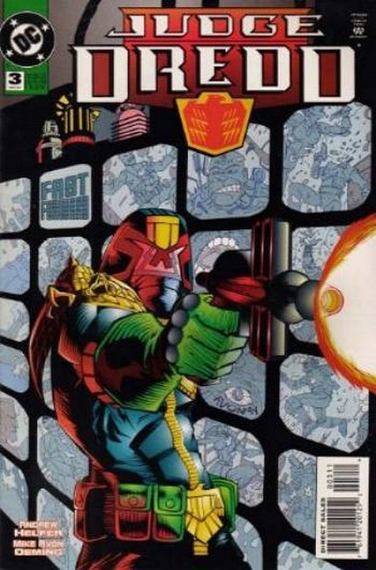 Cover of Judge Dredd (DC) (Vol 1) #3. One of 250,000 Vintage American Comics on sale from Krypton!