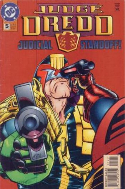 Cover of Judge Dredd (DC) (Vol 1) #5. One of 250,000 Vintage American Comics on sale from Krypton!