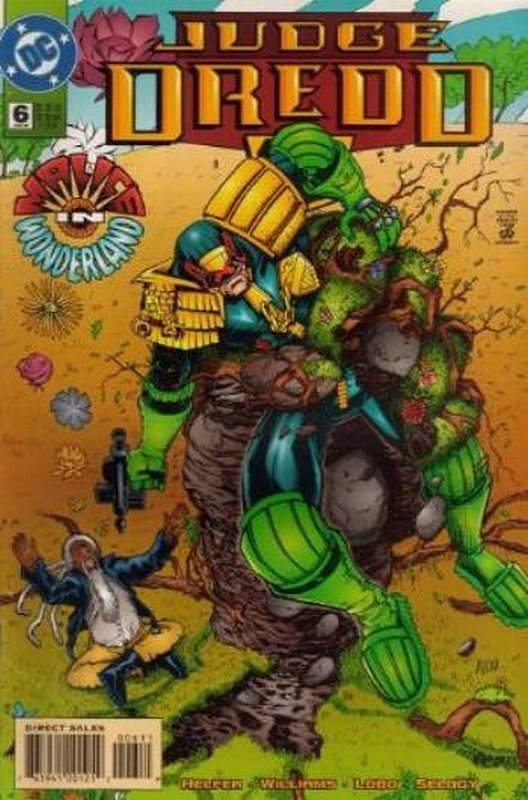 Cover of Judge Dredd (DC) (Vol 1) #6. One of 250,000 Vintage American Comics on sale from Krypton!