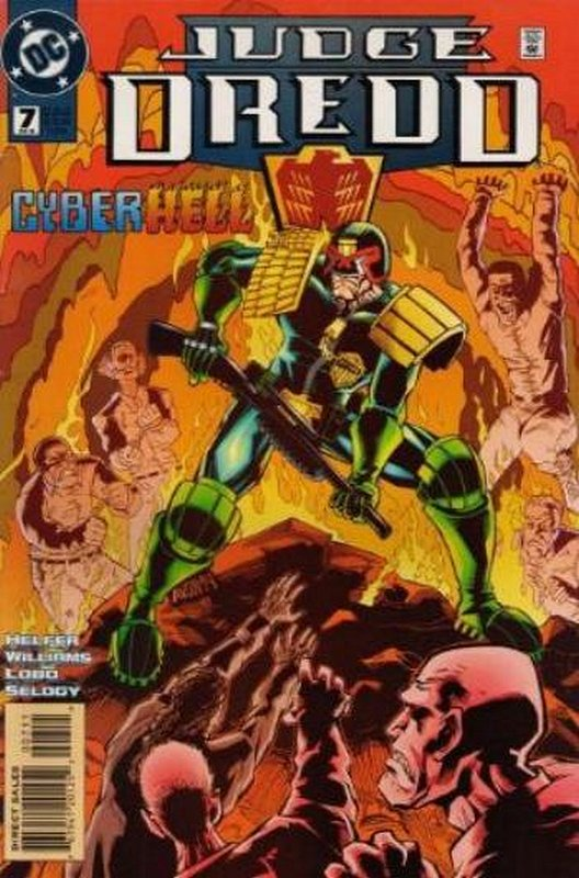 Cover of Judge Dredd (DC) (Vol 1) #7. One of 250,000 Vintage American Comics on sale from Krypton!