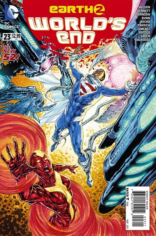Cover of Earth Two: Worlds End (Vol 1) #23. One of 250,000 Vintage American Comics on sale from Krypton!