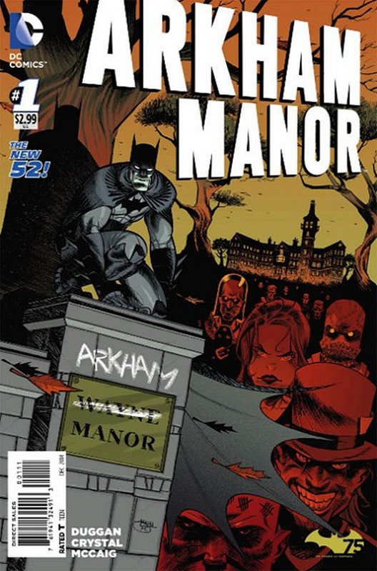 Cover of Arkham Manor (Vol 1) #1. One of 250,000 Vintage American Comics on sale from Krypton!