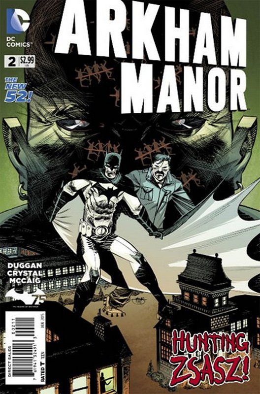 Cover of Arkham Manor (Vol 1) #2. One of 250,000 Vintage American Comics on sale from Krypton!
