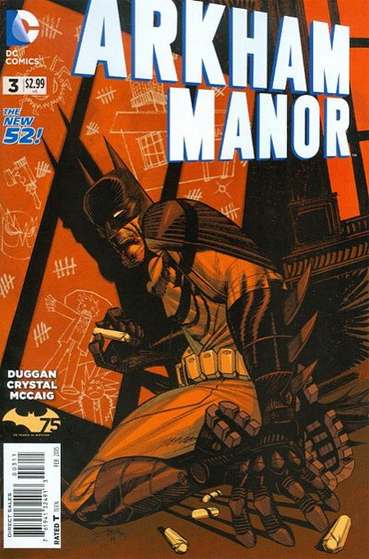 Cover of Arkham Manor (Vol 1) #3. One of 250,000 Vintage American Comics on sale from Krypton!