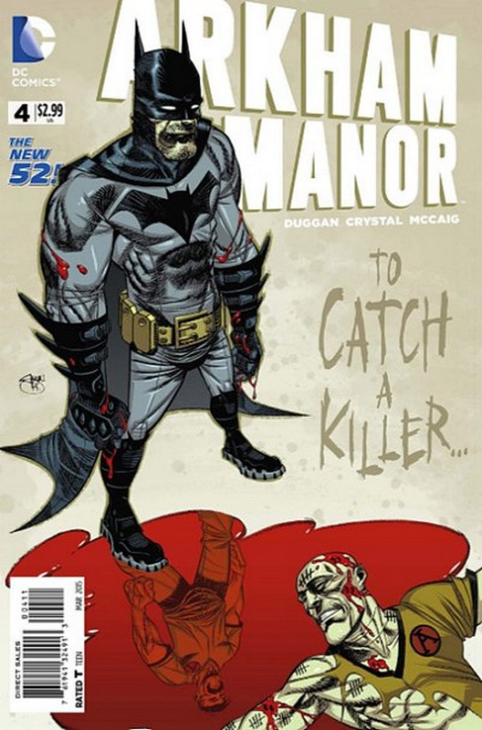Cover of Arkham Manor (Vol 1) #4. One of 250,000 Vintage American Comics on sale from Krypton!