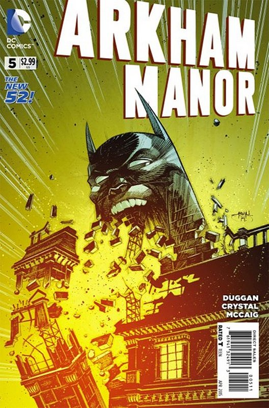 Cover of Arkham Manor (Vol 1) #5. One of 250,000 Vintage American Comics on sale from Krypton!