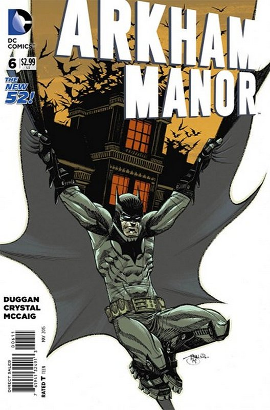 Cover of Arkham Manor (Vol 1) #6. One of 250,000 Vintage American Comics on sale from Krypton!