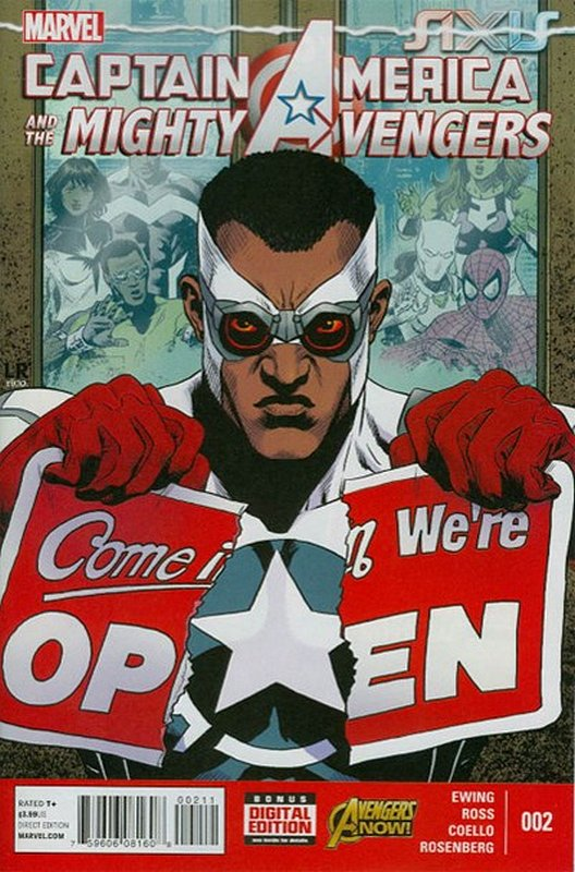Cover of Captain America & Mighty Avengers (Vol 1) #2. One of 250,000 Vintage American Comics on sale from Krypton!