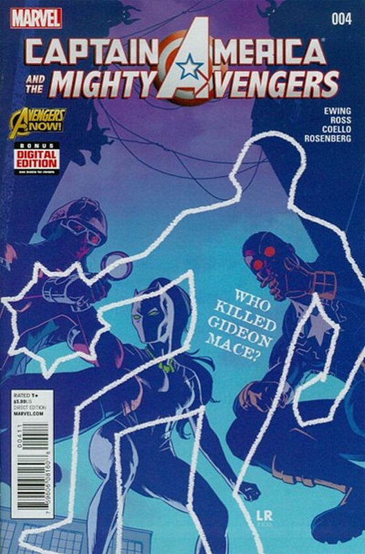 Cover of Captain America & Mighty Avengers (Vol 1) #4. One of 250,000 Vintage American Comics on sale from Krypton!
