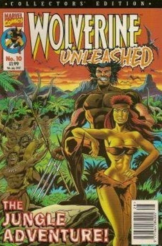 Cover of Wolverine Unleashed (Vol 1) (UK) #10. One of 250,000 Vintage American Comics on sale from Krypton!