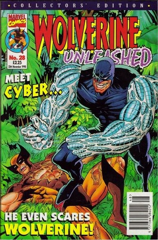 Cover of Wolverine Unleashed (Vol 1) (UK) #28. One of 250,000 Vintage American Comics on sale from Krypton!