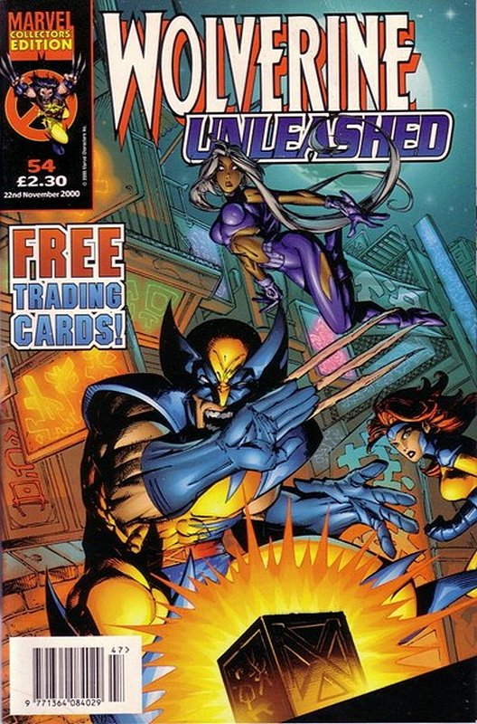 Cover of Wolverine Unleashed (Vol 1) (UK) #54. One of 250,000 Vintage American Comics on sale from Krypton!