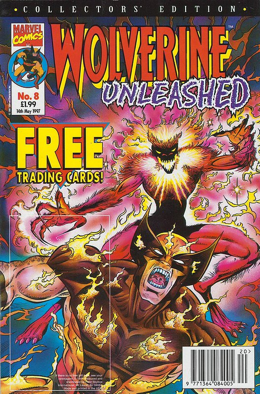 Cover of Wolverine Unleashed (Vol 1) (UK) #8. One of 250,000 Vintage American Comics on sale from Krypton!