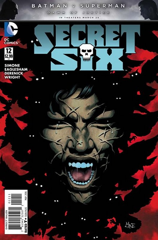 Cover of Secret Six (Vol 3) #12. One of 250,000 Vintage American Comics on sale from Krypton!