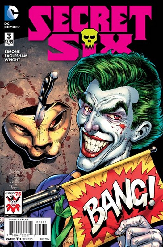 Cover of Secret Six (Vol 3) #3. One of 250,000 Vintage American Comics on sale from Krypton!