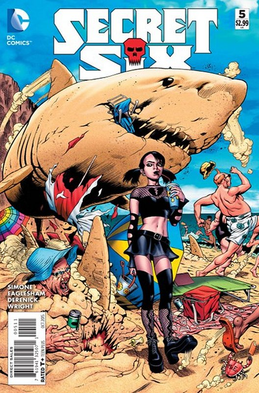 Cover of Secret Six (Vol 3) #5. One of 250,000 Vintage American Comics on sale from Krypton!