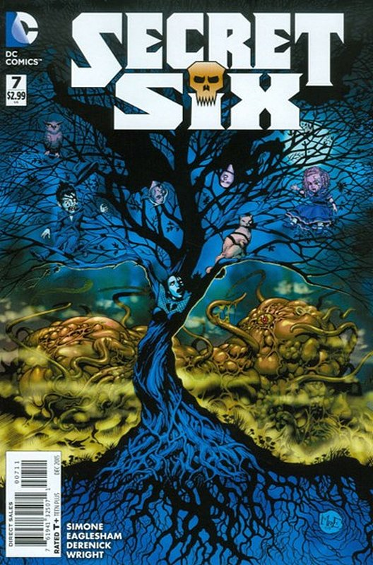 Cover of Secret Six (Vol 3) #7. One of 250,000 Vintage American Comics on sale from Krypton!