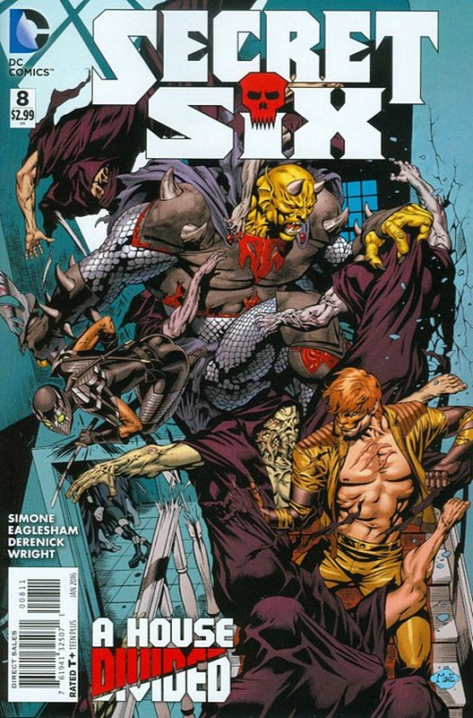 Cover of Secret Six (Vol 3) #8. One of 250,000 Vintage American Comics on sale from Krypton!