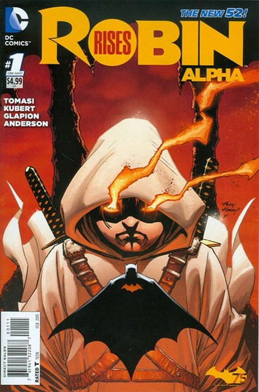 Cover of Robin Rises Alpha (2014 One Shot) #1. One of 250,000 Vintage American Comics on sale from Krypton!