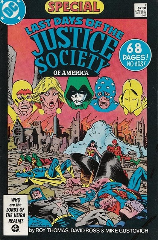 Cover of Justice Society of America - Last Days (One Shot) #1. One of 250,000 Vintage American Comics on sale from Krypton!