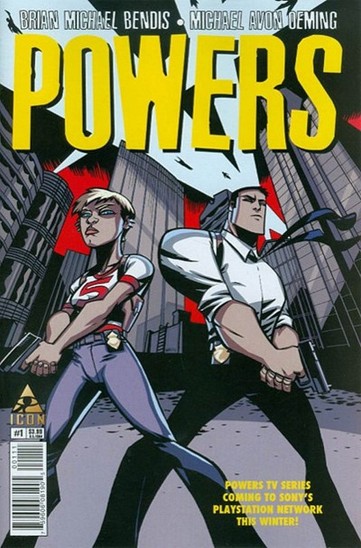 Cover of Powers (Vol 4) #1. One of 250,000 Vintage American Comics on sale from Krypton!