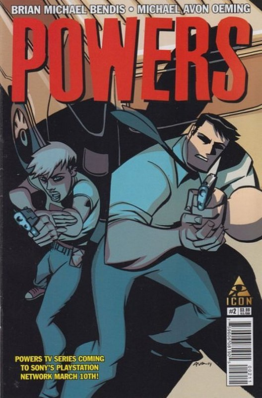 Cover of Powers (Vol 4) #2. One of 250,000 Vintage American Comics on sale from Krypton!