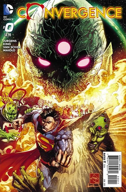 Cover of Convergence (2015 Ltd) #0. One of 250,000 Vintage American Comics on sale from Krypton!