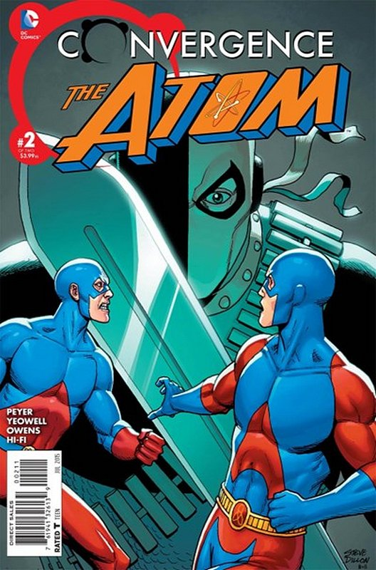 Cover of Convergence: Atom (2015 Ltd) #2. One of 250,000 Vintage American Comics on sale from Krypton!