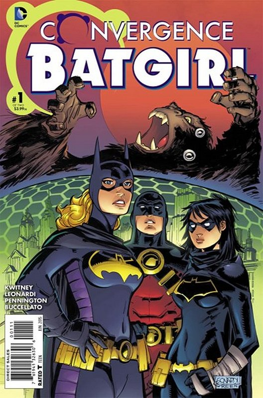 Cover of Convergence: Batgirl (2015 Ltd) #1. One of 250,000 Vintage American Comics on sale from Krypton!