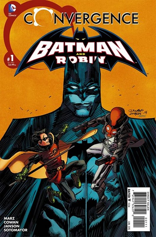Cover of Convergence: Batman & Robin (2015 Ltd) #1. One of 250,000 Vintage American Comics on sale from Krypton!