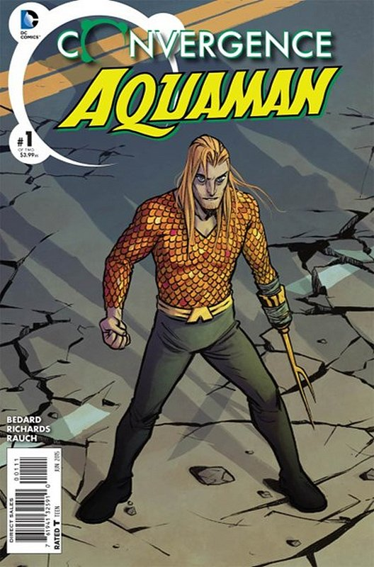 Cover of Convergence: Aquaman (2015 Ltd) #1. One of 250,000 Vintage American Comics on sale from Krypton!