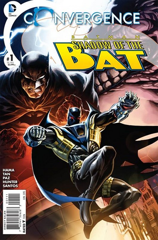 Cover of Convergence: Batman Shadow of the Bat (2015 Ltd) #1. One of 250,000 Vintage American Comics on sale from Krypton!