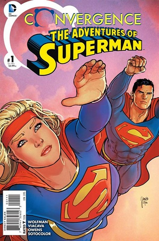 Cover of Convergence: Adventures of Superman (2015 Ltd) #1. One of 250,000 Vintage American Comics on sale from Krypton!
