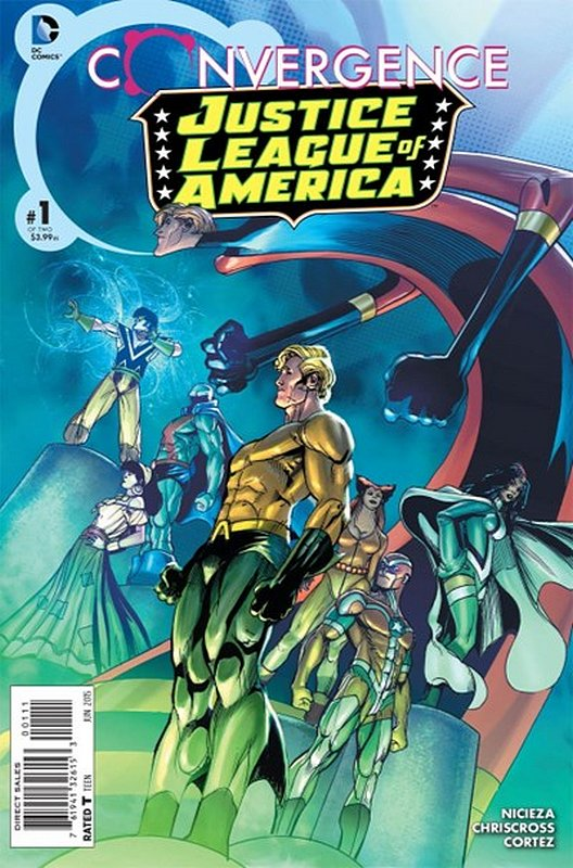 Cover of Convergence: Justice League of America (2015 Ltd) #1. One of 250,000 Vintage American Comics on sale from Krypton!