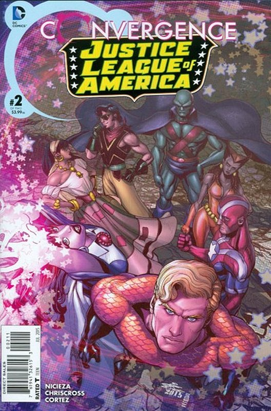 Cover of Convergence: Justice League of America (2015 Ltd) #2. One of 250,000 Vintage American Comics on sale from Krypton!