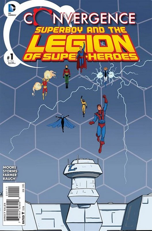 Cover of Convergence: Superboy & The Legion (2015 Ltd) #1. One of 250,000 Vintage American Comics on sale from Krypton!